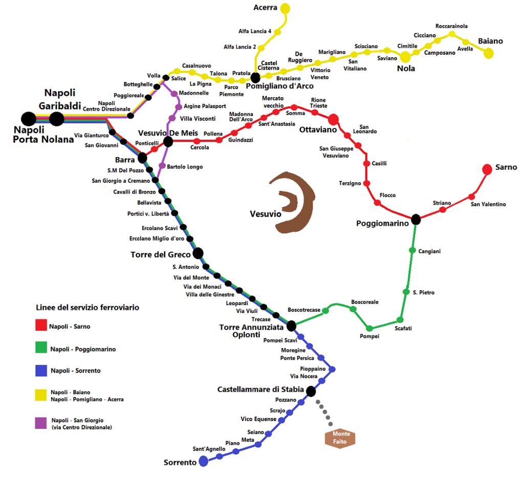 Circumvesuviana_maps