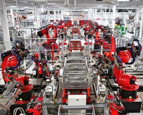 robotica automazione fabbrica