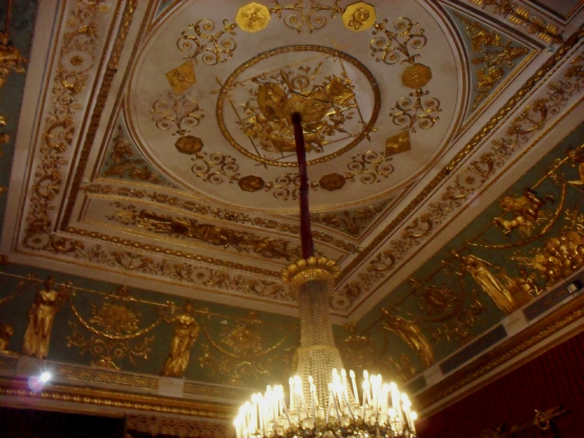Risultati immagini per palazzo reale di napoli sala del trono