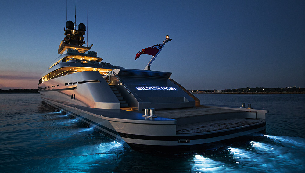 silverfast-yacht-night-exterior