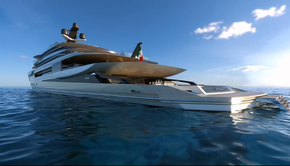 Yacht Serene Il Lusso Targato Italia Panorama 4 Piano