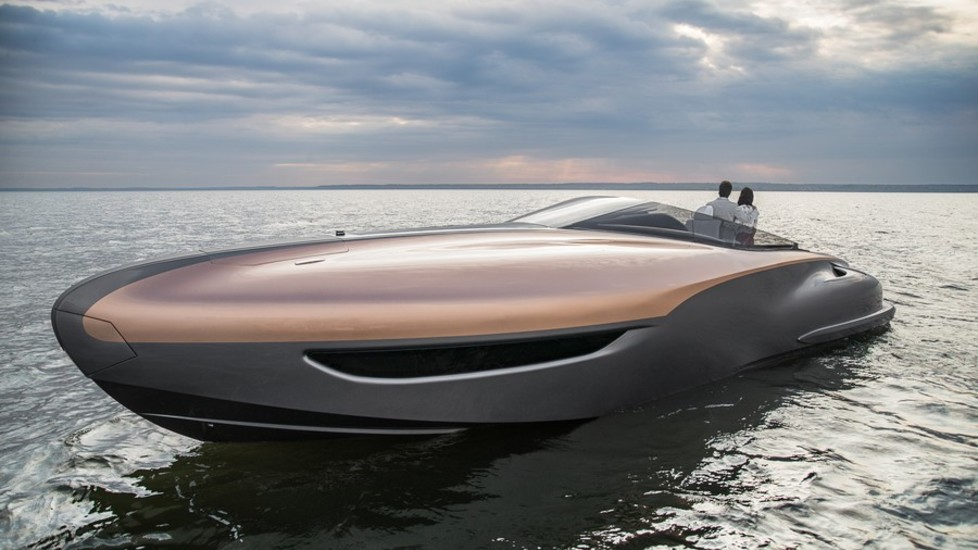 Lexus Sport Yacht The Sea Supercar Panorama Piano