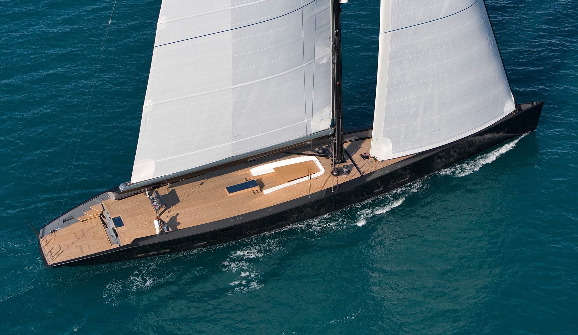Yacht a vela esense di wally il fratello maggiore di tango
