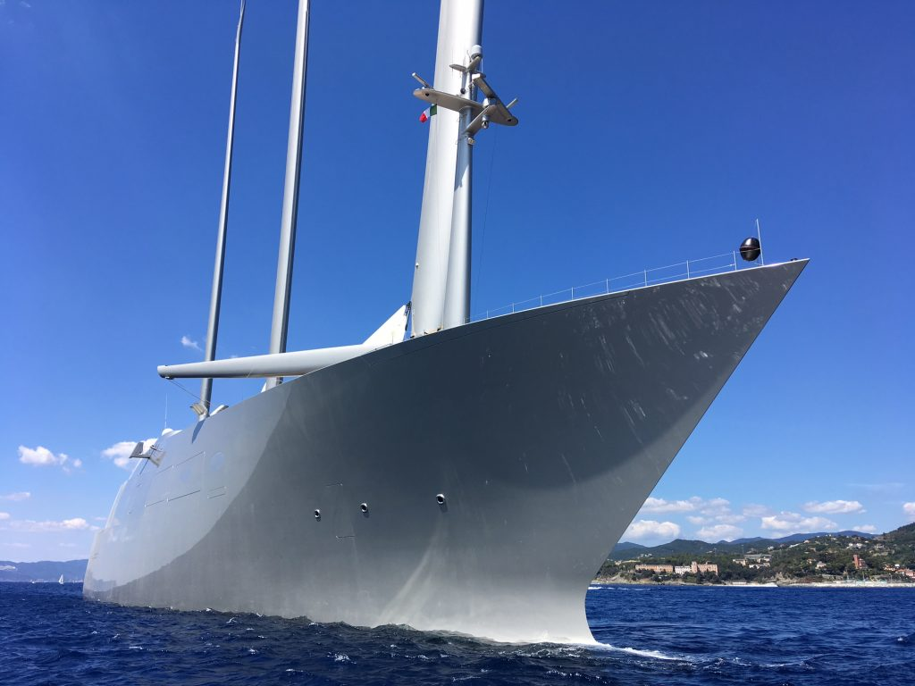 Sailing Yacht A Floating Sculpture Panorama 4 Piano