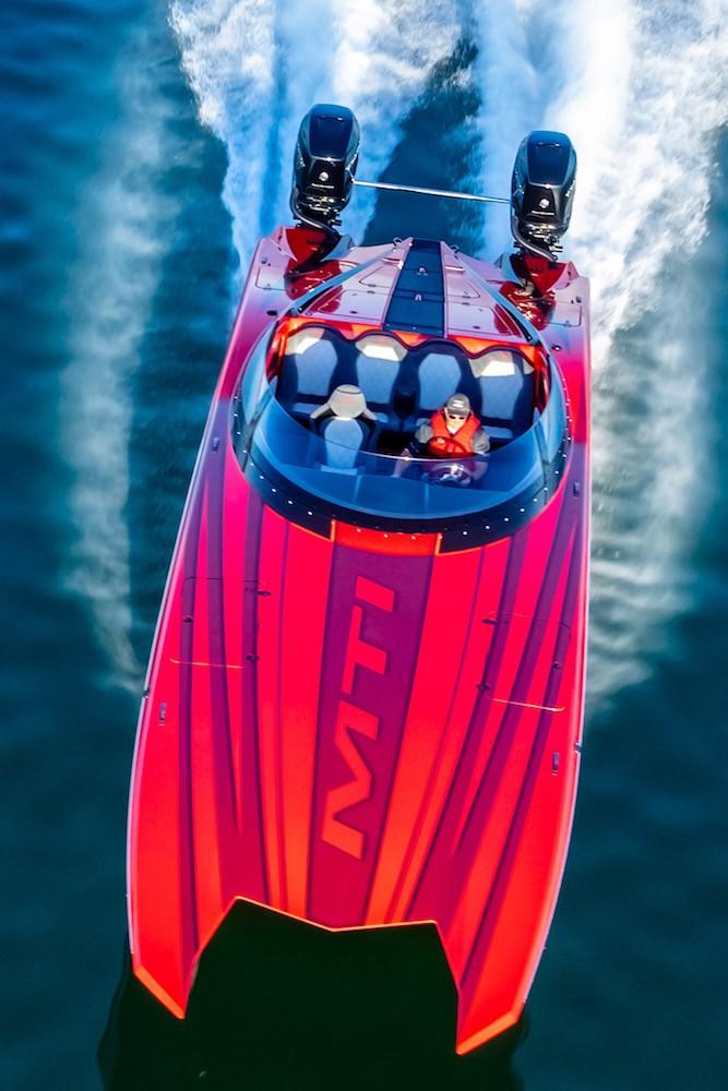 MTI 340X the pleasure boat with impressive performance